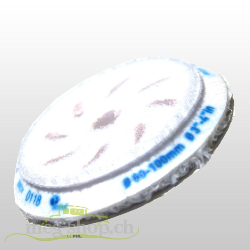 BF10 Mikrofaser Polierpad Coarse/grob blau ø80 mm_1381