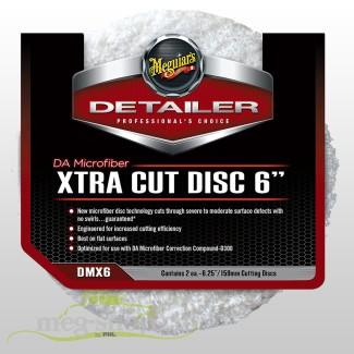 """DMX6 DA Microfiber Xtra Cut Disc6"""" VE à 2 Stk._380"""