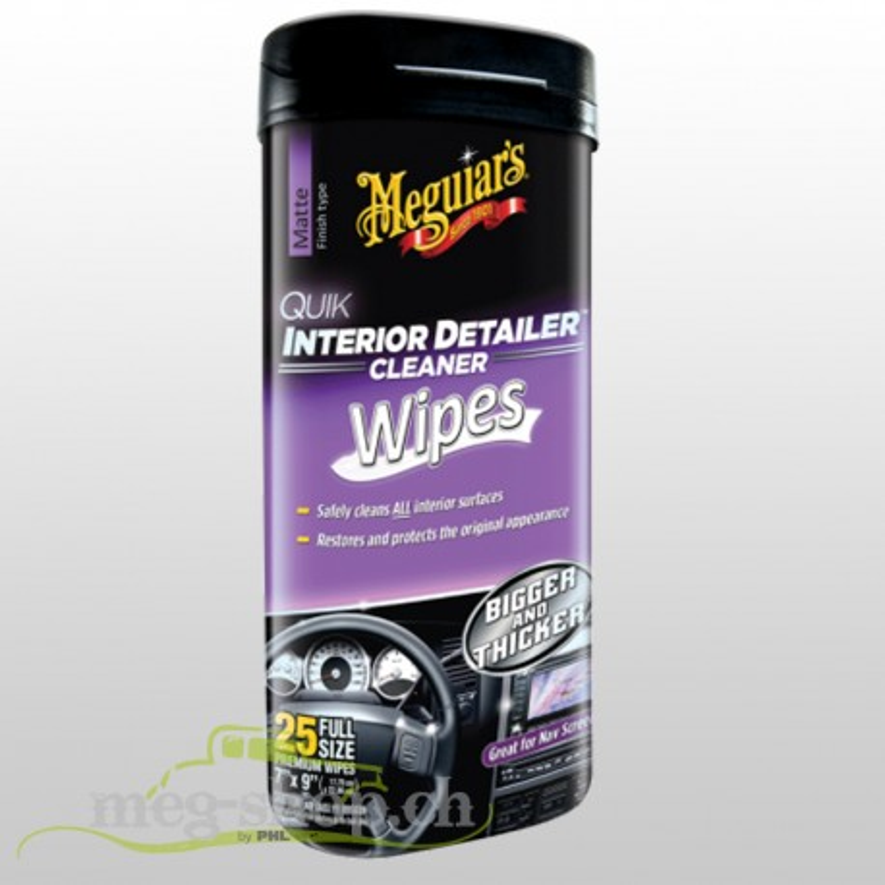 G13600 Quik Interior Detailer Wipes_396